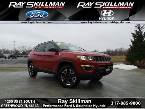 Used Jeep New Compass Trailhawk