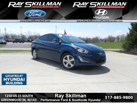 Certified Used Hyundai Elantra VALUE EDITION