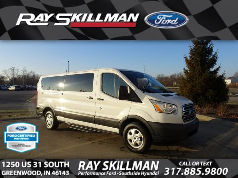 Pre-Owned 2017 Ford Transit Wagon XLT RWD Van