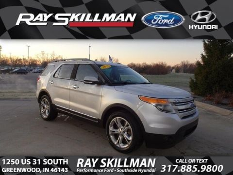 Certified Pre-Owned 2015 Ford Explorer Limited