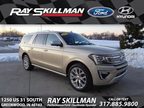 Certified Pre-Owned 2018 Ford Expedition Max Platinum
