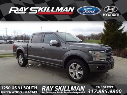 Certified Pre-Owned 2019 Ford F-150 Platinum