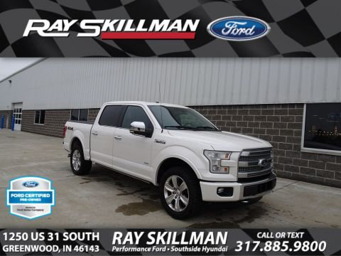 2016 Ford F-150 PLATINUM 4X4