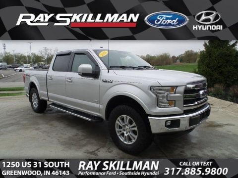 Certified Pre-Owned 2016 Ford F-150 LARIAT 4X4