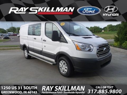 Certified Pre-Owned 2018 Ford Transit w/60/40 Pass-Side Cargo Doors