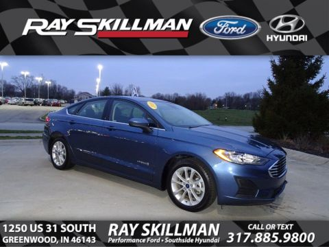 Pre-Owned 2019 Ford Fusion Hybrid SE FWD Sedan