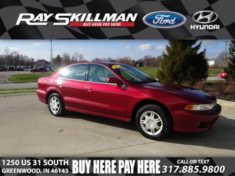 Pre-Owned 2001 Mitsubishi Galant ES FWD Sedan