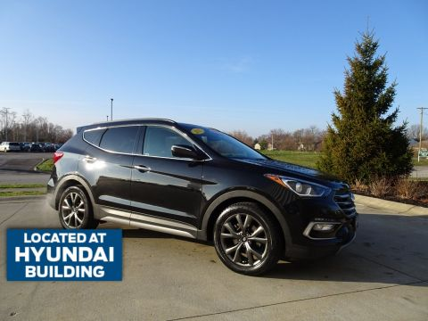 Certified Pre-Owned 2017 Hyundai Santa Fe Sport 2.0T Ultimate AWD SUV